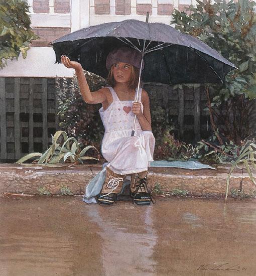 sh - catching the rain